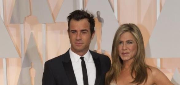 Justin y Jennifer en los Premios Oscar 2015