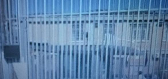 L'esterno del carcere di Fuorni