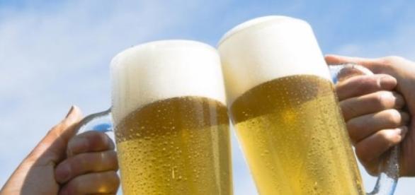 La cerveza se fabrica con malta, lúpulo y cebada