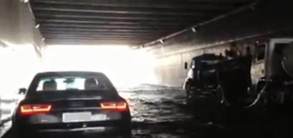 Chuva forte atinge Fortaleza e em outras cidades.