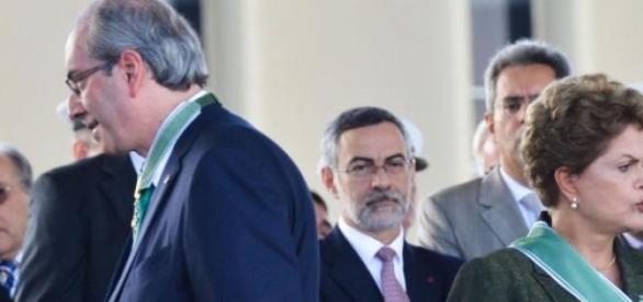 Cunha anunciou o seu rompimento com o governo