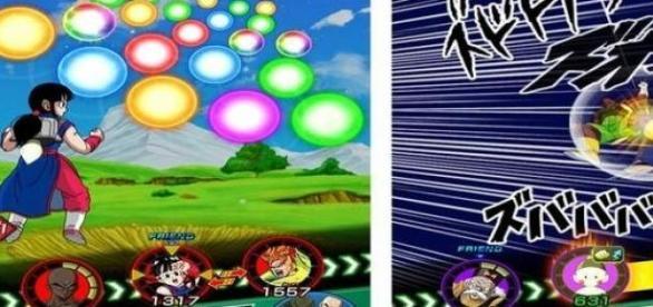 Dragon Ball Z: Dokkan Battle en acción