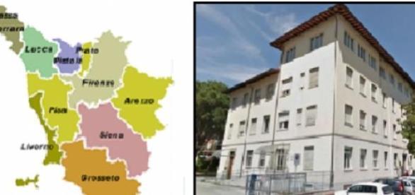 La sede della Usr Toscana di Pistoia