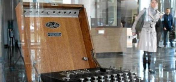 Niemiecka maszyna - Enigma.