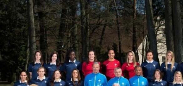 Photo de l'Equipe de France de foot féminin