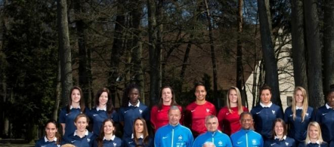 Photo de l'Equipe de France de foot féminin