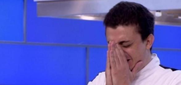Filipe chora na grande final