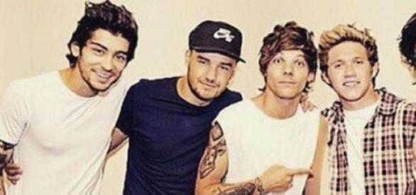 One Direction mit Zayn Malik