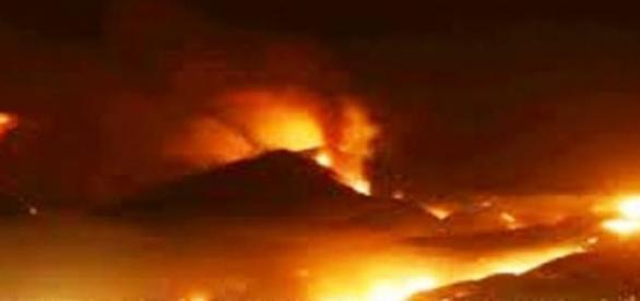 Pożar w Stanach Zjednoczonych