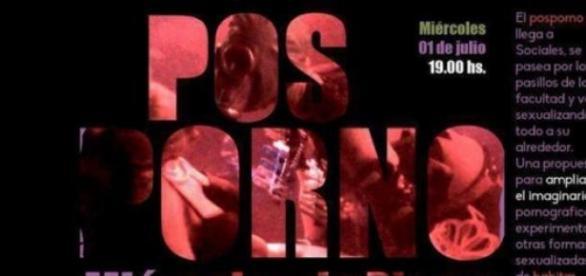 Afiche de la muestra Posporno