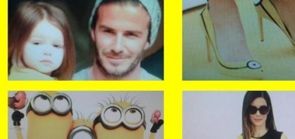 Beckham y Bullock parte del furor amarillo