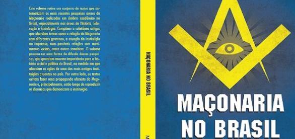 """Capa do livro """"Maçonaria no Brasil"""""""