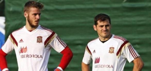 David De Gea, portero que quiere el Real Madrid