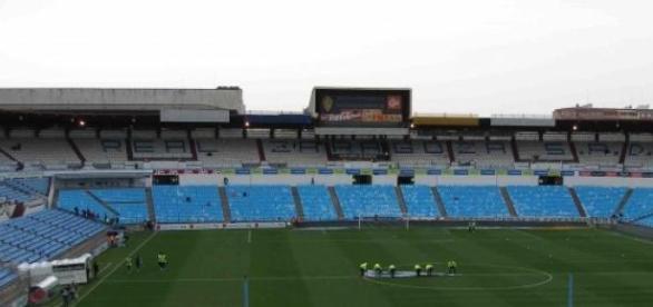 Estadio de la Romareda, en la ciudad de Zaragoza