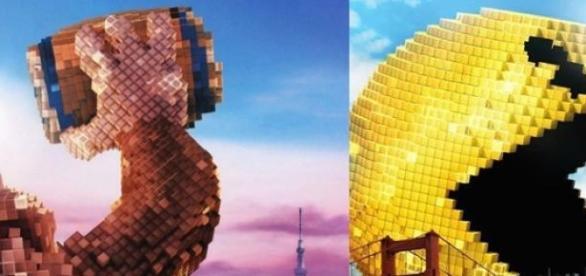 King Kong versus Pac Man