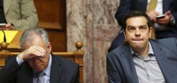Alexis Tsipras è in difficoltà