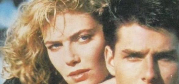 Kelly McGillis y Tom Cruise, películaTop Gun