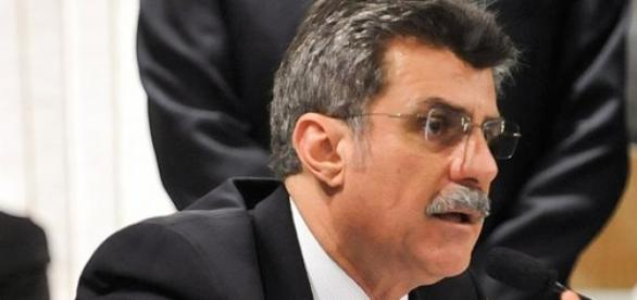 O senador Romero Jucá do PMDB-RR