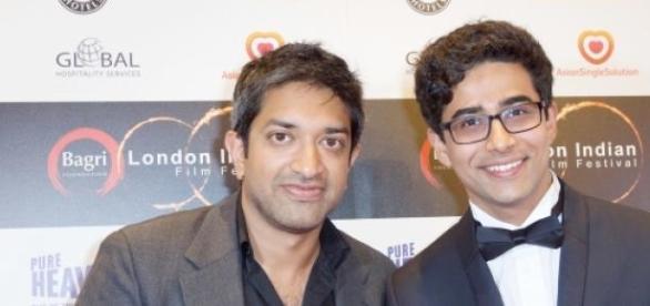 Prashant Nair and Suraj Sharma at LIFF.