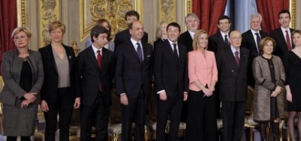 Presto novita' nell'esecutivo del Governo Renzi