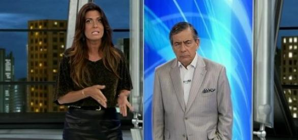 Record 'rouba' matérias da Globo