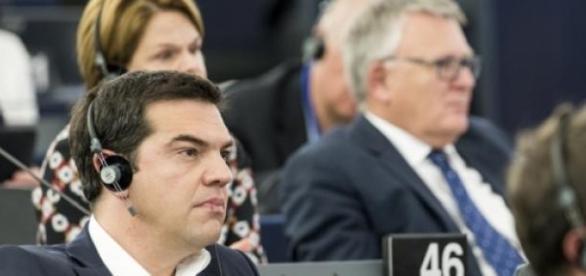 Tsipras al Parlamento europea