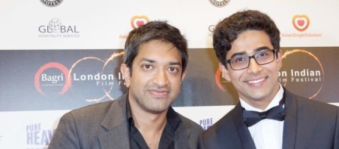 Prashant Nair and Suraj Sharma at LIFF.