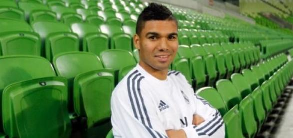 Casemiro en una entrevista a Real Madrid TV.