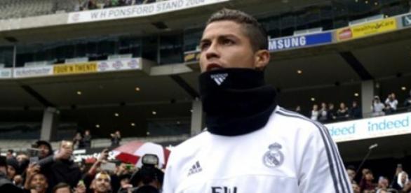 Cristiano Ronaldo en un entrenamiento en Australia