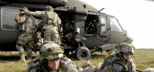 Rapid Trident-exerciţii militare NATO în Ucraina