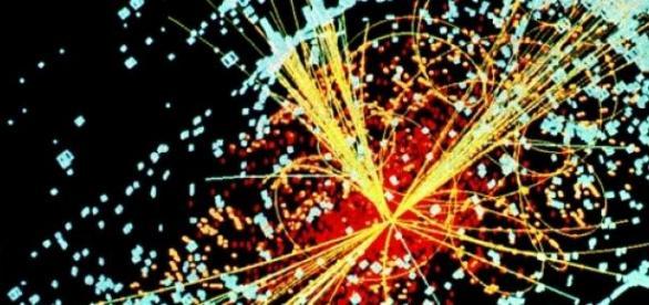 Choque de partículas en el CERN
