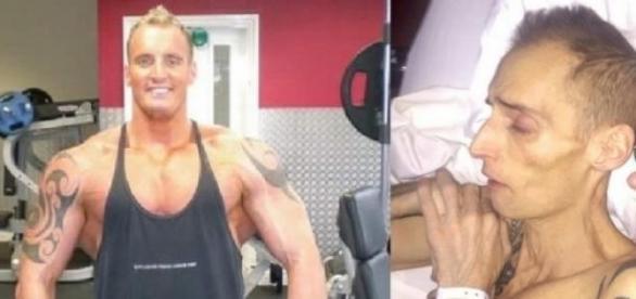 Dean desejava um corpo musculoso comendo besteiras