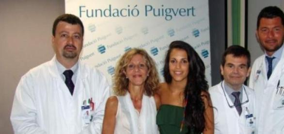Fundació Puigvert, paciente Judith y la madre