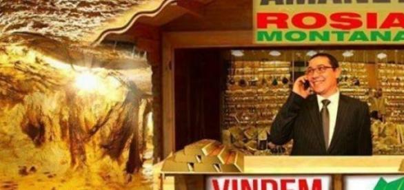 Scandalul de la Roşia Montană va reîncepe?