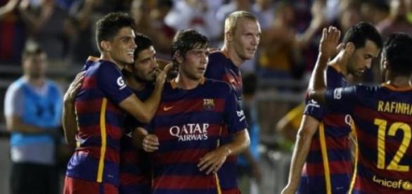 Sergi Roberto marcó el segundo gol del partido