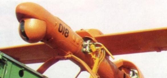 Dron przygotowywany do akcji