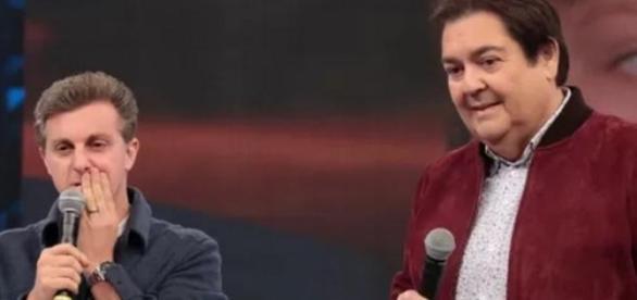 Faustão e Huck brigam na Globo
