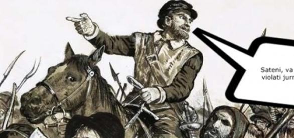 Război civil în comuna Văleni