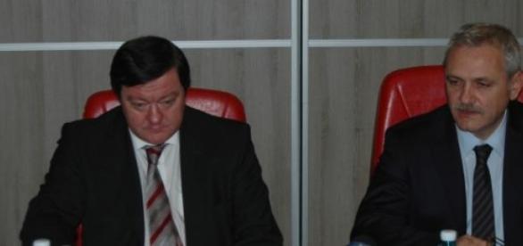 Sorin Frunzăverde şi Liviu Dragnea