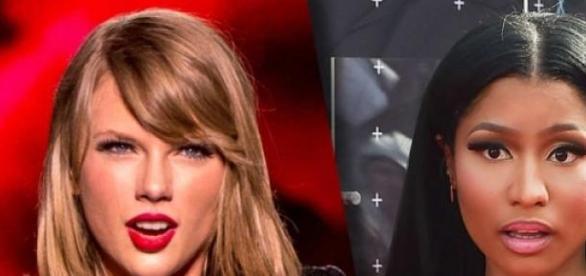 Swift já pediu desculpas à cantora Minaj
