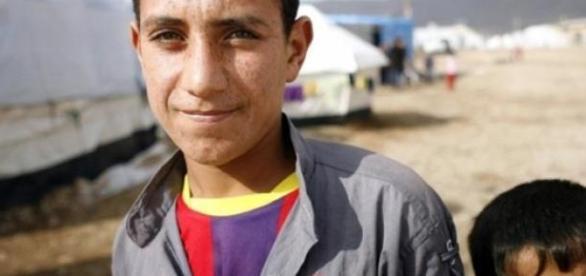 Crianças no Iraque trabalham até 12 horas por dia.