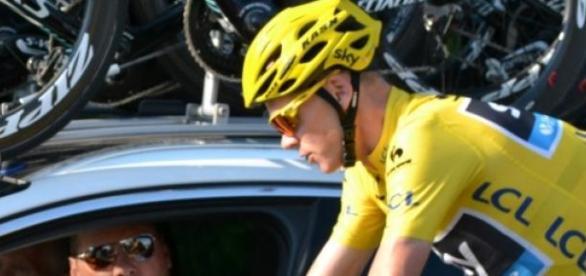 Chris Froome, líder del Tour