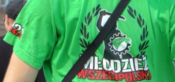 Manifestację zorganizowała Młodzież Wszechpolska