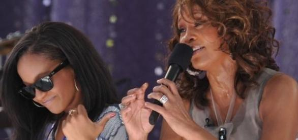 Bobbi Kristina Brown y su madre, Whitney Houston