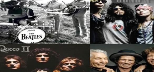 Grandes bandas de rock de todos los tiempos