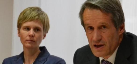 Professoren Mireen Friedrich-Rust und Dirk Becker.