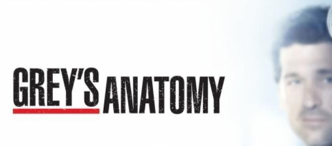 Meredith e Derek , il logo della serie.