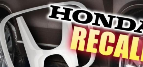 Honda fará recall de 477 mil unidades, no Brasil