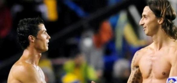 Ibrahimovic tem pesadelos com Ronaldo.