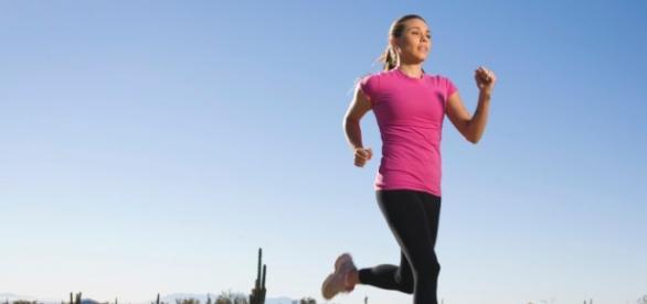 Acompanhar a corrida a uma boa dieta é essencial.